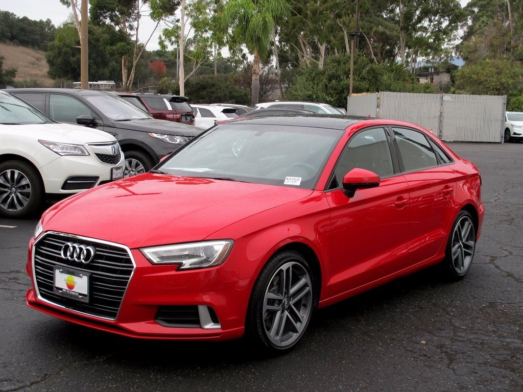 Pre-Owned 2017 Audi A3 Sedan Premium 4dr Car